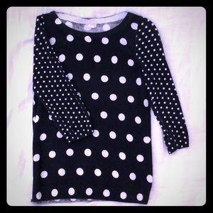 J Crew Factory linen/cotton sweater